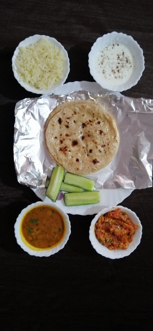 Normal thali