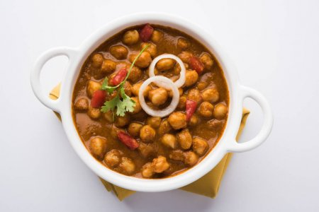 Special Chole with buttery roti