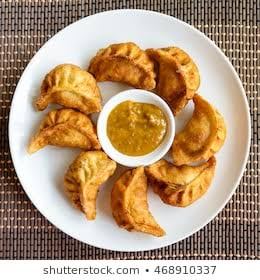 Fried momos specially cook for you