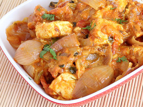 Yummy mlayi do pyaza cooked only for you