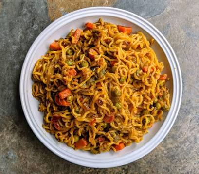 Fully posting veg Maggi cooked you